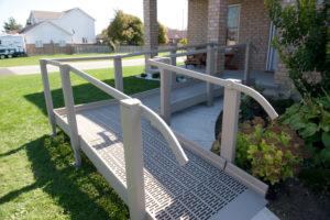 ADA Wheelchair Ramp Edmonton - Easy install